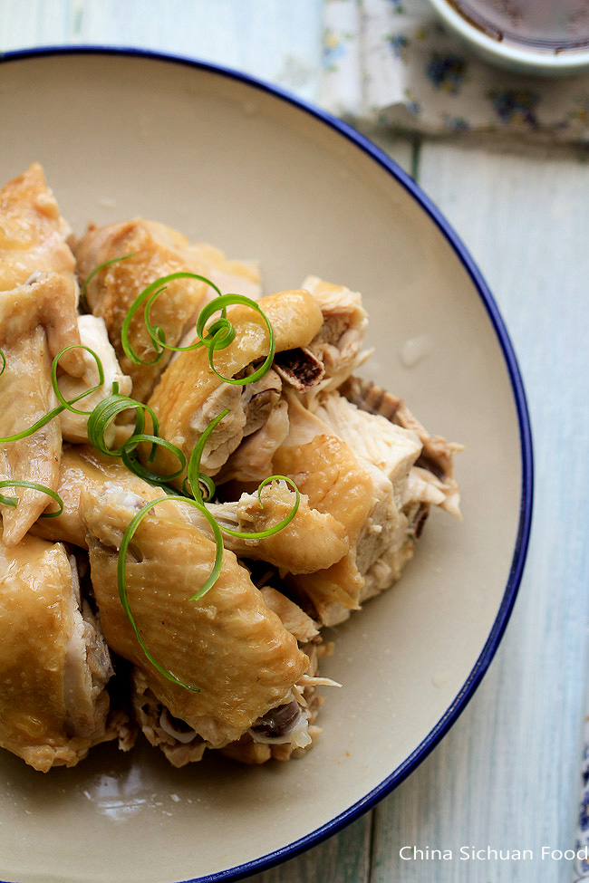 steamed chicken recipe