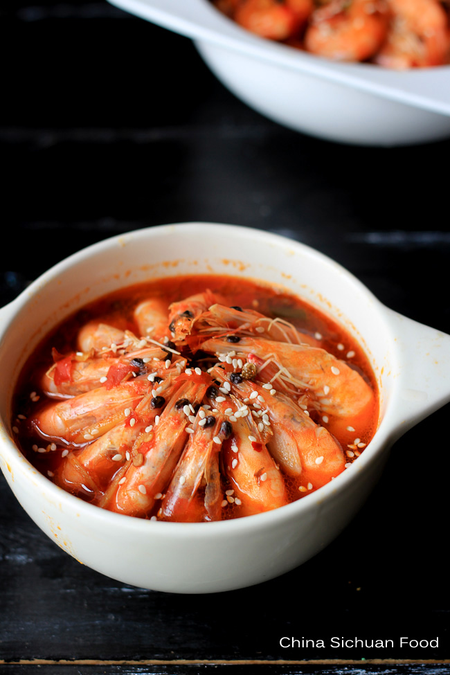 Szechuan shrimp recipe pen pen shrimp china sichuan food szechuan shrimp pen pen shrimp forumfinder Gallery