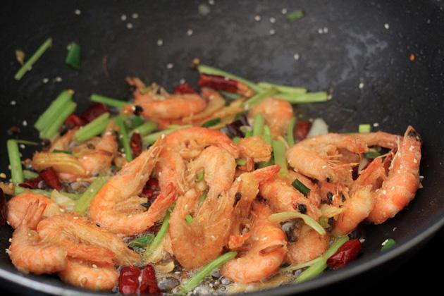 Sichuan Crispy shrimp