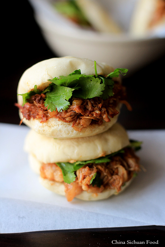 Chinese Hamburger-Pork belly Buns