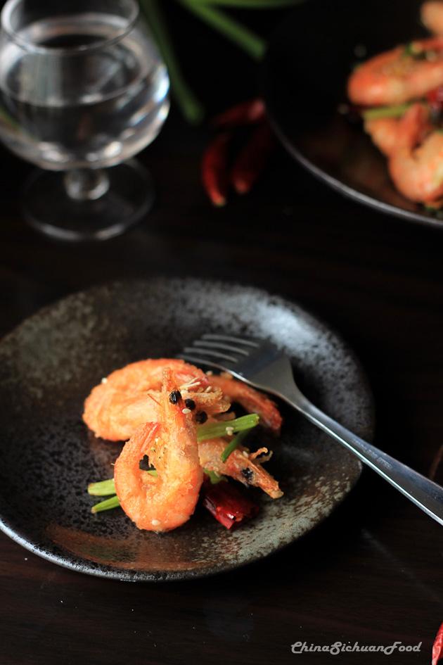 sezchuan shrimp--spicy crispy shrimp-6