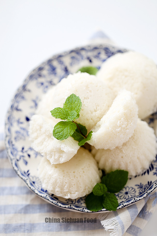steamed rice cake- Rice Fa gao