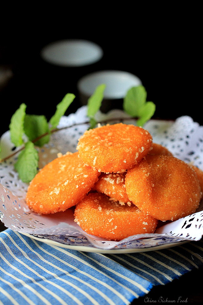 Chinese Fried Pumpkin Cake Recipe