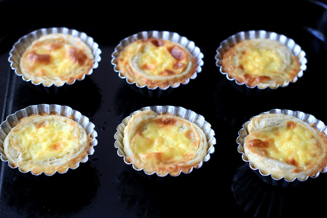 egg tart recipe