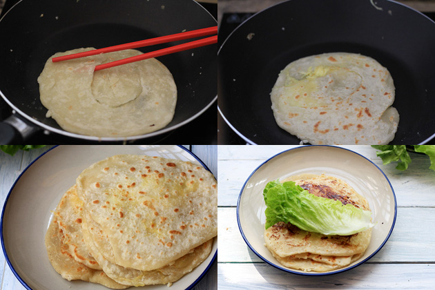 Chinese egg pancake