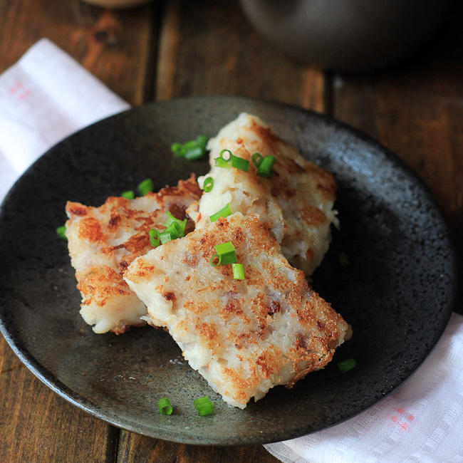 Turnip Cake Vegetarian