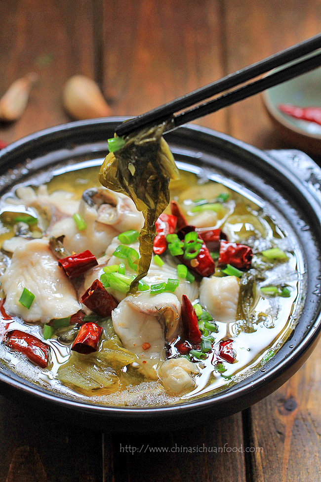 Szechuan fish suan cai yu china sichuan food suan cai yu recipe forumfinder Choice Image