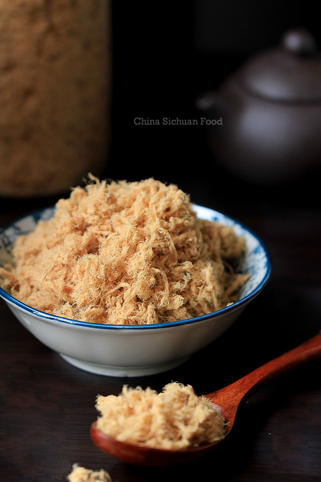 Homemade meat floss