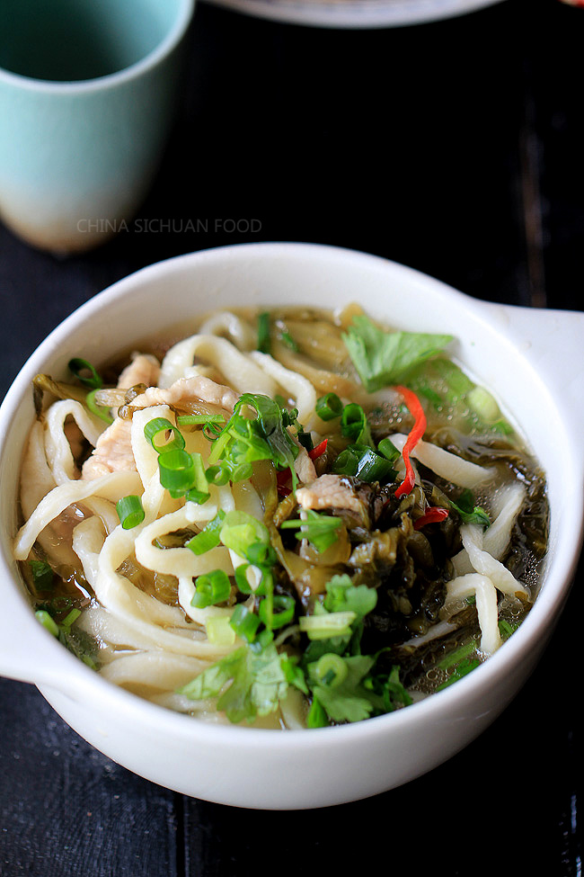 Pickled mustard green noodles china sichuan food pickled mustard green noodles forumfinder Images