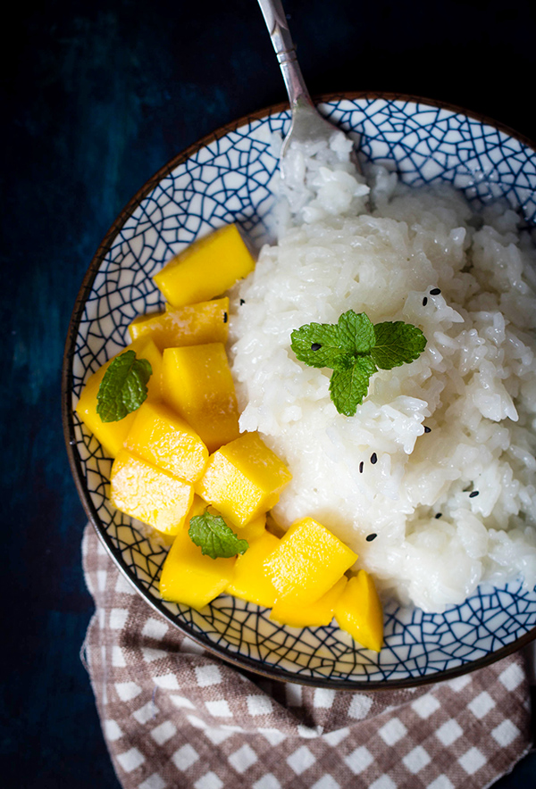 Thai Sticky Rice Recipe with Mango | China Sichuan Food