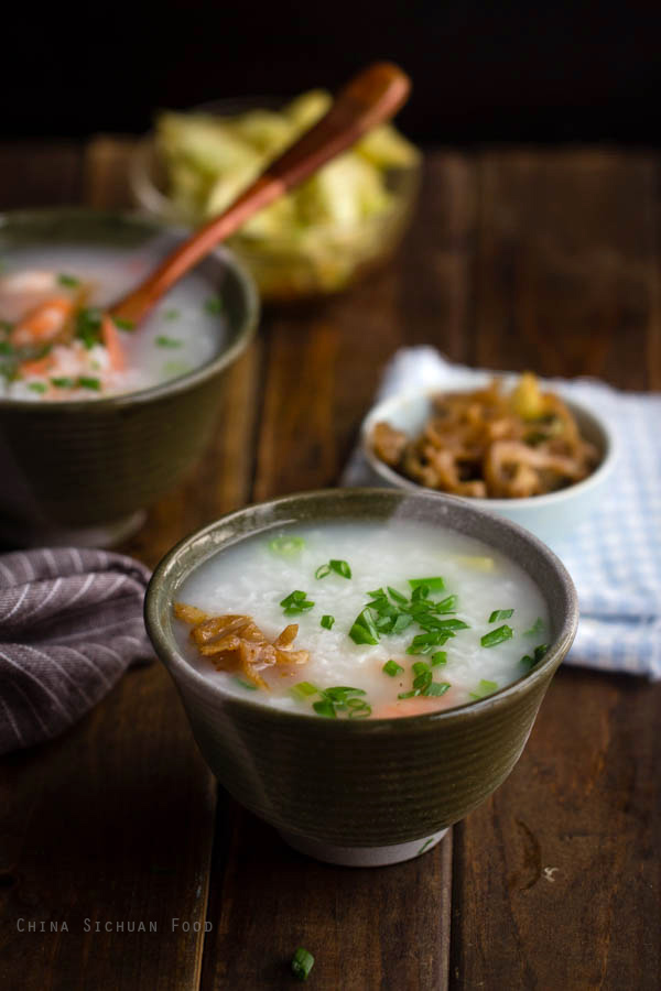 Chinese Shrimp Congee