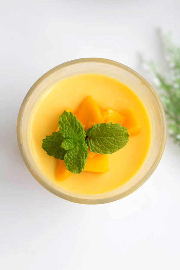 how to cook mango pudding