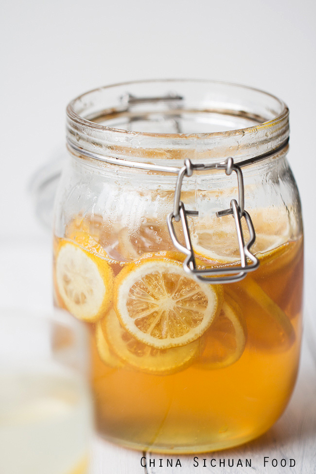 honey lemon tea