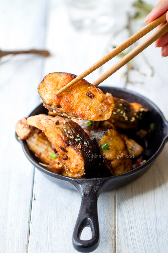 Skinny Chinese Pan-Fried Fish