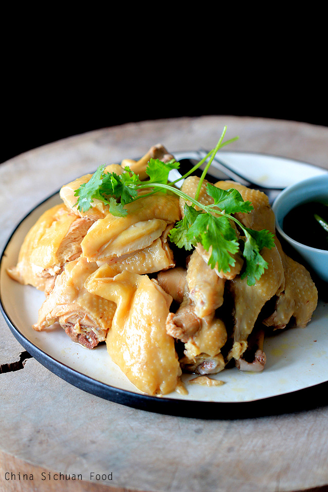 white cut chicken|Chinese poached chicken