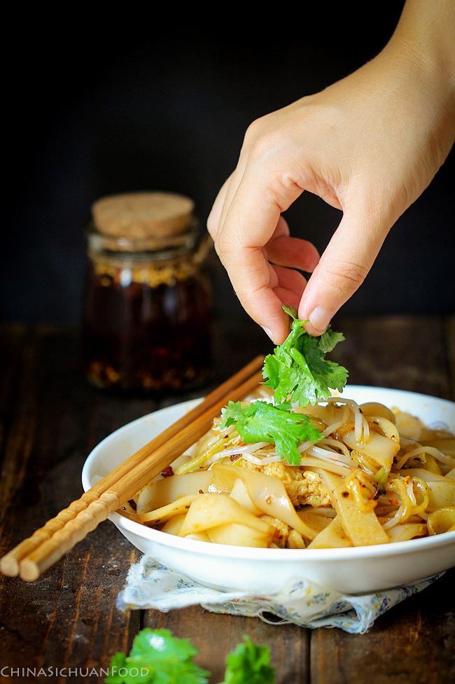 Liangpi Cold Skin Noodles China Sichuan Food