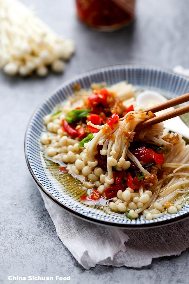 How to Cook Enoki Mushrooms