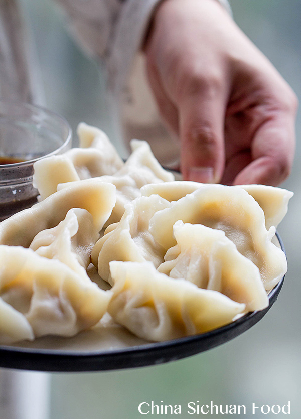 Chinese new year recipes   How to make dumplings