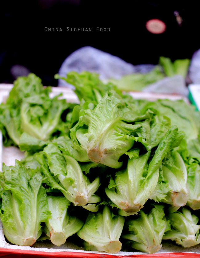 Chinese vegetables--Lettuce
