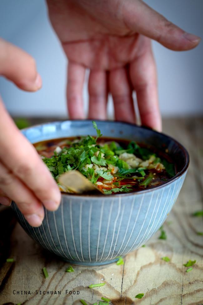 Chongqing noodles (mala noodles)