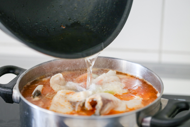 Chinese tomato fish