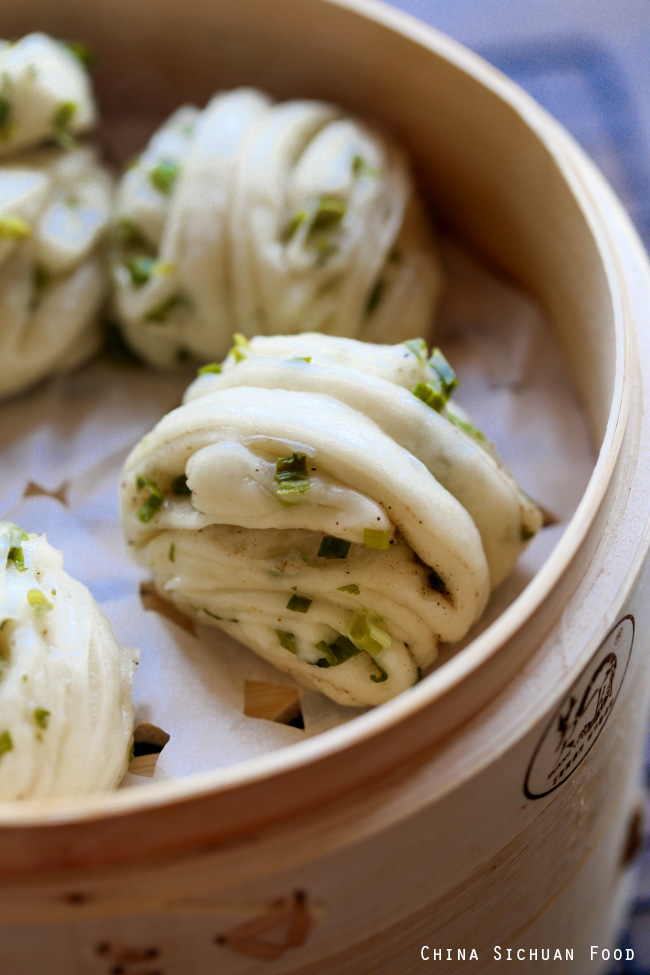 Scallion Bubble Cake Recipe
