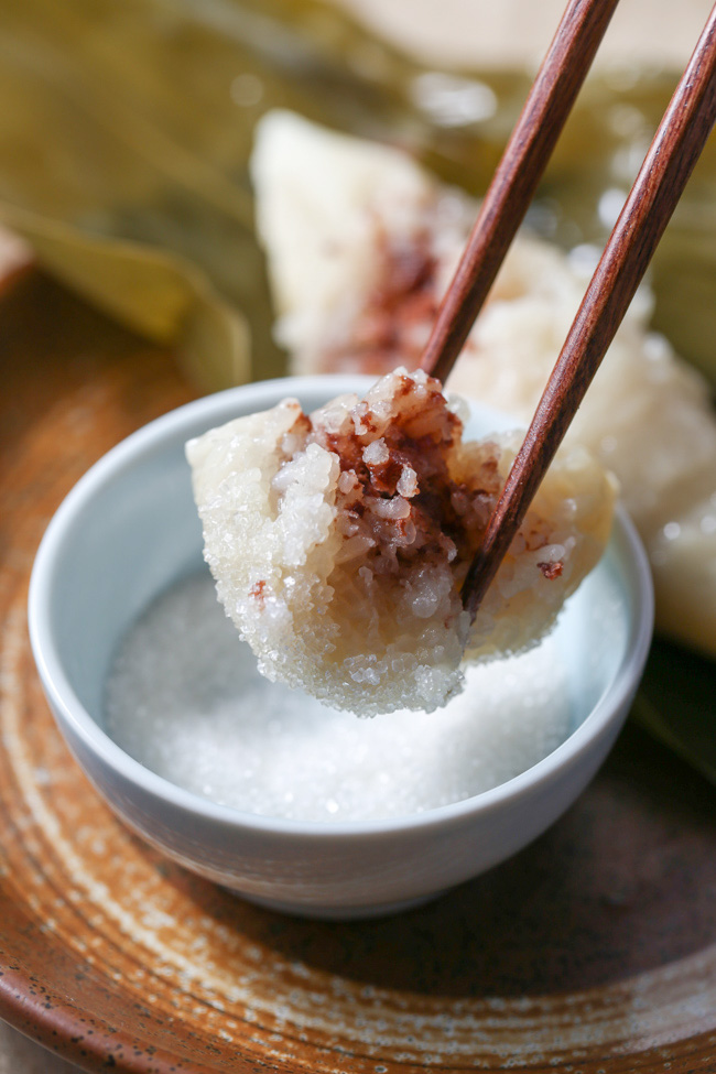 zongzi- Chinese rice dumplings
