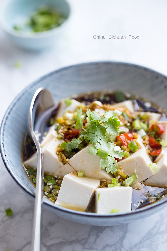cold tofu salad