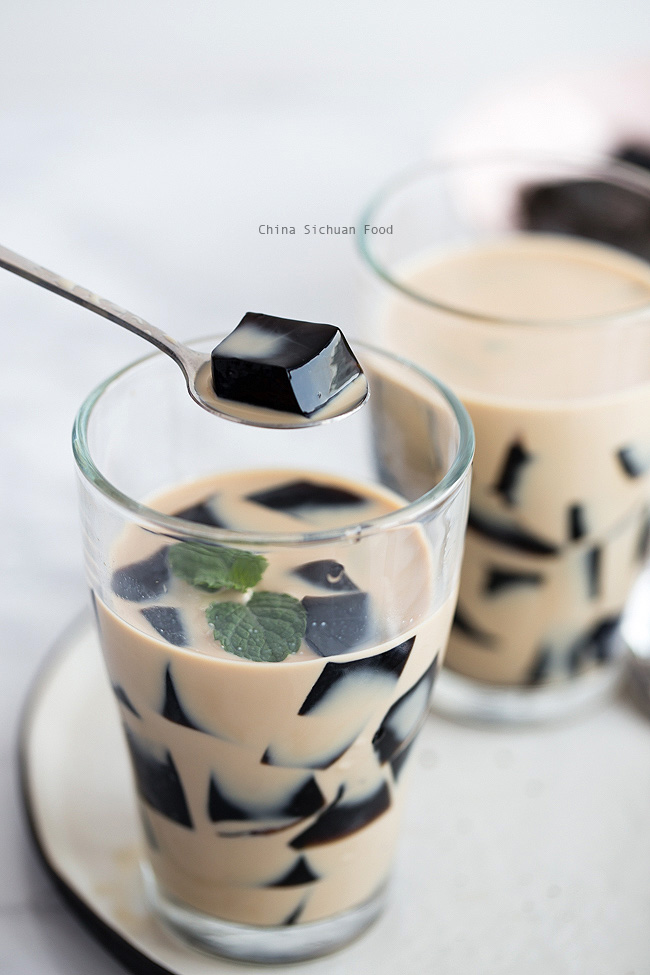 Grass Jelly Cincau China Sichuan Food