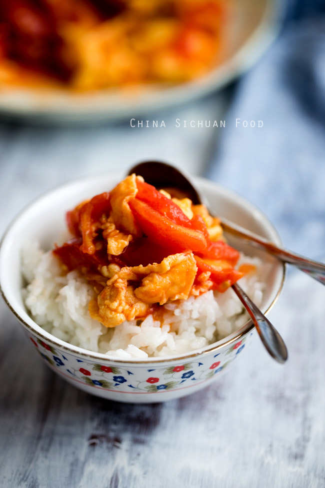 Chinese tomato and egg stir fry china sichuan food chinese tomato and egg stir fry forumfinder Choice Image