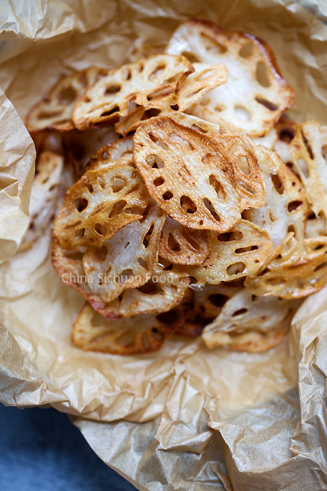 Lotus Root Chips China Sichuan Food
