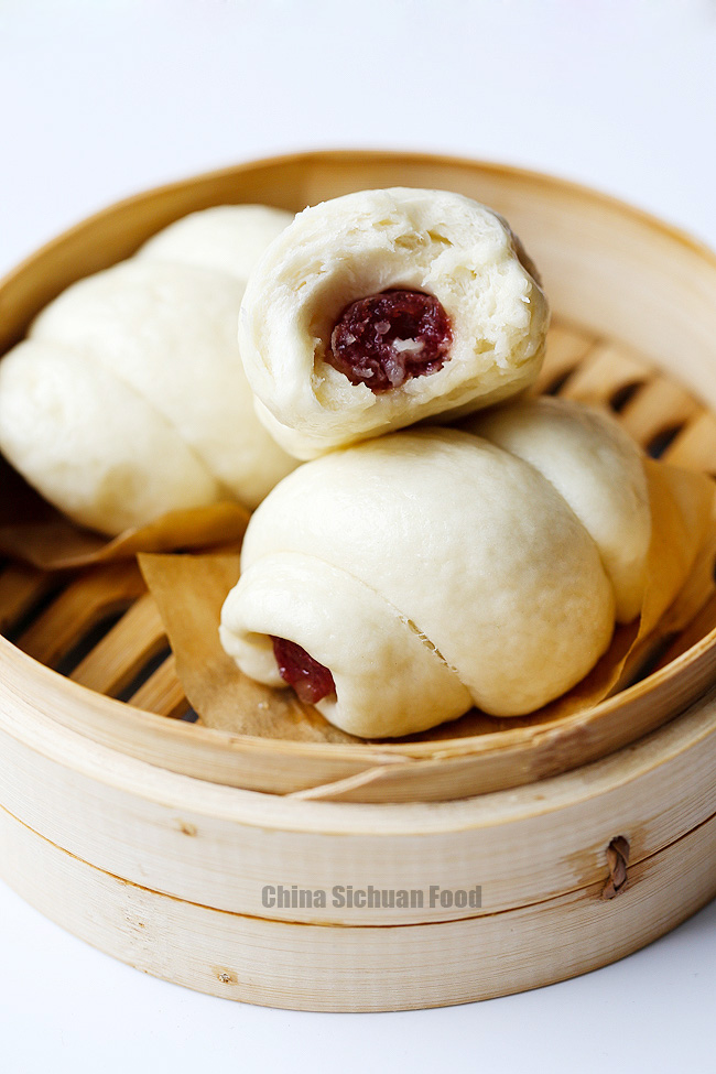 Steamed sausage buns|China Sichuan Food