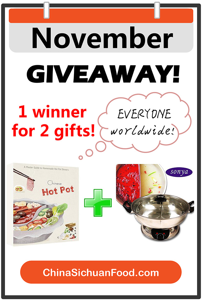 hot pot cooker giveaway|China Sichuan Food