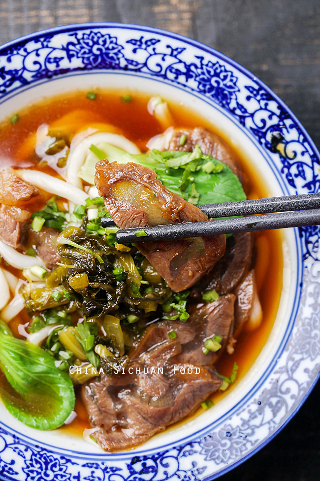 Beef shank noodles