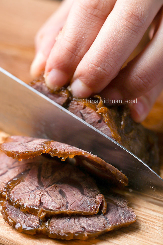Chinese Braised Beef Shank | chinasichuanfood.com
