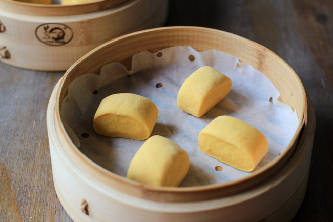 Steamed Pumpkin Buns