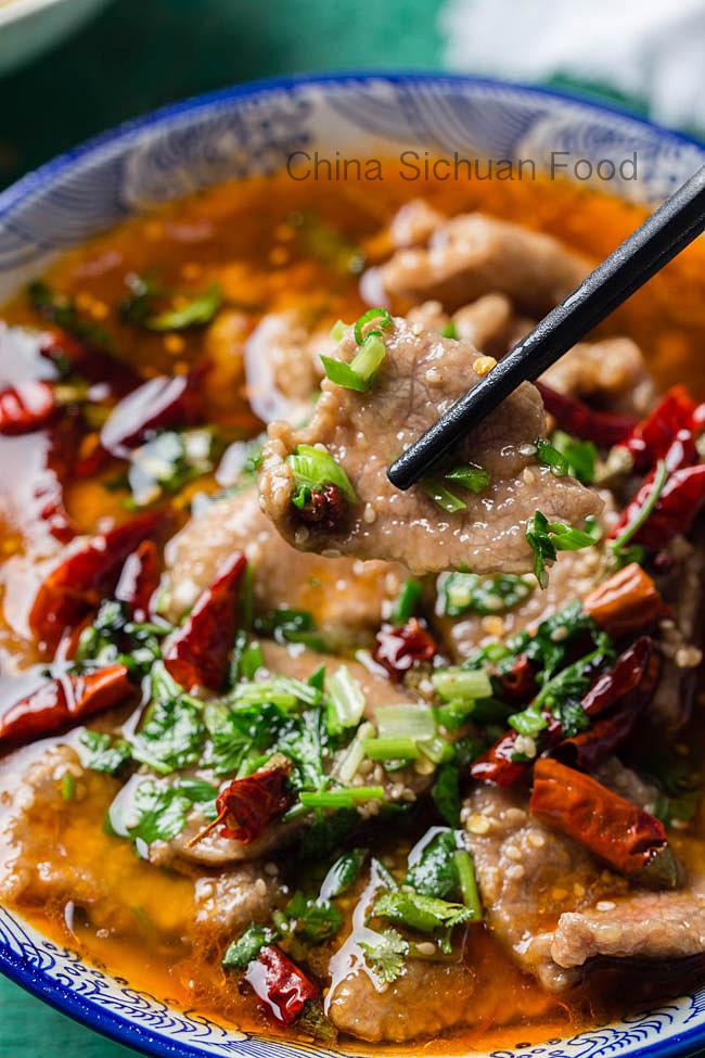 Shui Zhu beef| chinasichuanfood.com