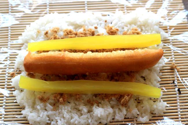 Zi Fantuan| sticky rice balls