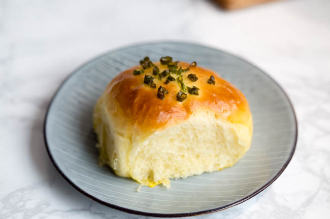 green onion bread | chinasichuanfood.com