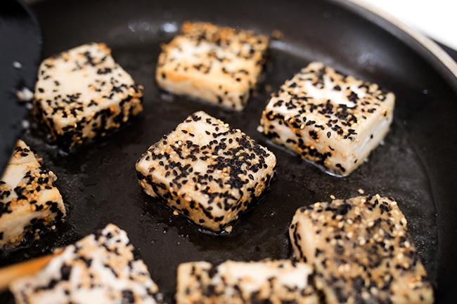 sesame crispy tofu | chinasichuanfood.com