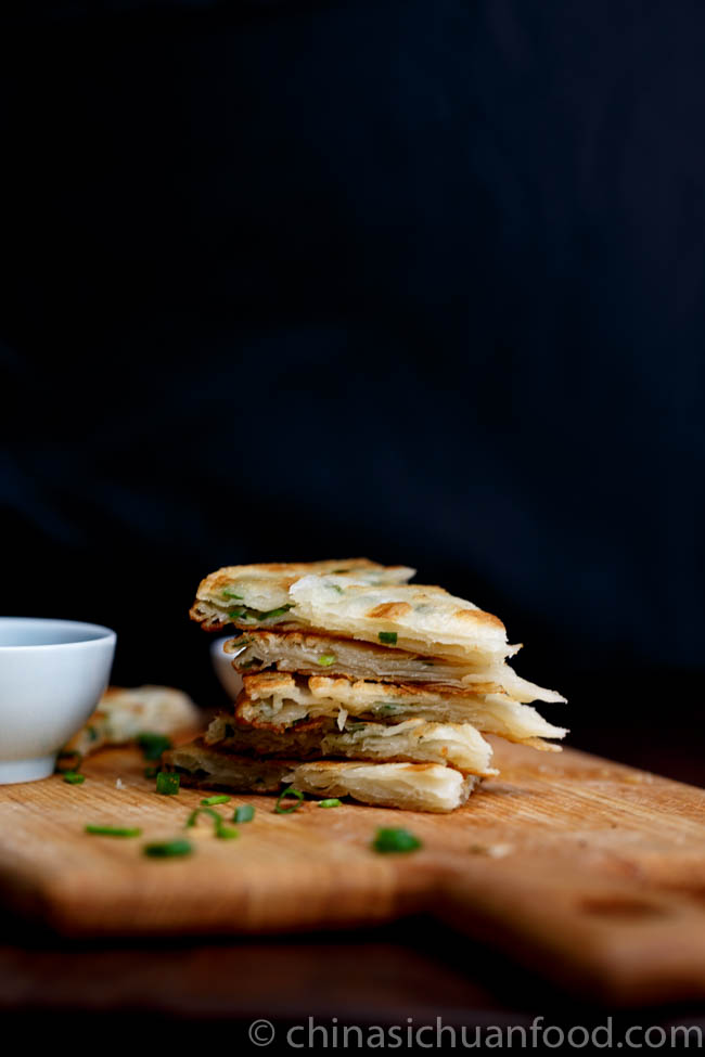 Scallion pancake | chinasichuanfood.com